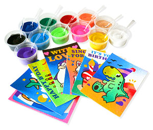 Sand Art Supplies And Manufacturer Background