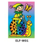 Sand Art *Theme Park* - ELF - Snail Ride