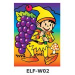 Sand Art *Theme Park* - ELF - Picking Berries