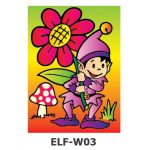 Sand Art *Theme Park* - ELF - Picking Flowers