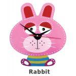 DIY Clock Painting - Rabbit