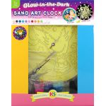Glow-in-the-Dark Sand Art Clock Kit
