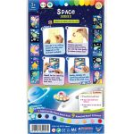 Glow-in-the-Dark Sand Art Kit - Space Series