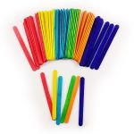 Ice Cream Stick 114mm Colour - Pack of 50