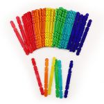 Ice Cream Stick 114mm Colour With Joint Gap - Pack of 50