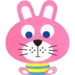 Sand Art Animals Deco Board - Riley Rabbit