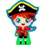 Sand Art Boys! Deco Board - Captain Pirate