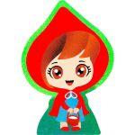 Sand Art Girls! Deco Board - Red Riding Hood