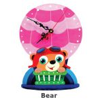 Animal Clock Stand - Bear