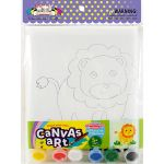 Canvas Art Medium With Jewel Sticker - Kit / Loose