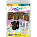 Tangle Scratch Art - Fabulous Bird Kit