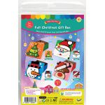Felt Christmas Gift BoxFelt Christmas Gift Box