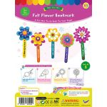 Felt Flower Bookmark Pack of 5