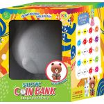 Silicone Coin Bank Painting Series E Kit