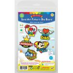 5-in-1 Sand Art Father's Day Board Kit - Packaging Front