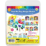 Sand Art Key Hanger Board Kit - Packaging Back