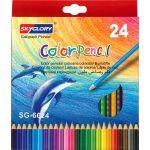 Skyglory Colour Pencil - 24 Colours