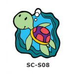 Suncatcher Small Keychain - Turtle