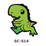 Suncatcher Small Keychain - Dinosaur
