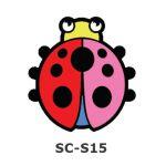 Suncatcher Small Keychain - Ladybird