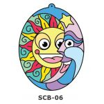 Suncatcher Board Painting Kit - Sun and Moon