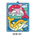 Suncatcher Board - Swimming Dolphins