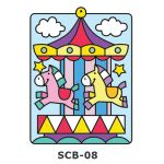 Suncatcher Board Painting Kit - Carnival Carousel