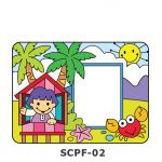 Suncatcher Photo Frame Kit - Hometown Kampung