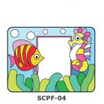 Suncatcher Photo Frame - Sea Creatures