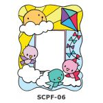 Suncatcher Photo Frame - Morning Birds Flying with Kites