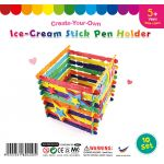 Ice-Cream Stick Pen Holder - Pack of 10