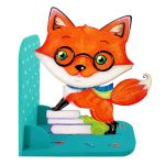 Animal Bookend Forest Theme - Furry Fox