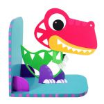 Animal Bookend Jurassic Theme - T-Rex