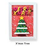 Christmas Frame Deco - Christmas Tree