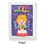 Christmas Frame Deco - Angel