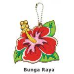 Merdeka Keychain Pack of 5 - Bunga Raya