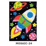 Mosaic Foam - Space Rocket