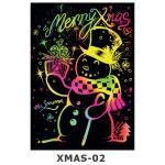 Scratch Art Kit - Christmas - Snowman