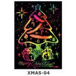 Scratch Art Kit - Christmas - Christmas Tree