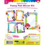 Fancy Felt Mirror Kit