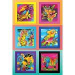 Framed Batik Art on the Walls