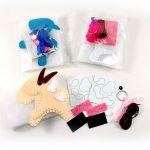 Felt Goat Plushie Kit - Pack of 3