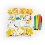 Felt Thermometer Magnet Party Kit - Pack of 20