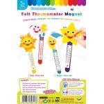 Felt Thermometer Magnet Set Pack of 2