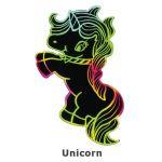 Scratch Art Fairytale - Unicorn