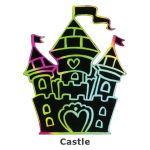 Scratch Art Fairytale - Castle