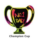 Scratch Art Father's Day - Dad's Trophy