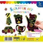 Scratch Art Father's Day Kit