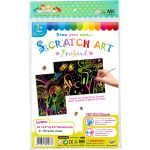 Scratch Art Freehand - Pack of 10 - Medium Size