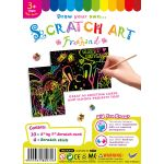 Scratch Art Freehand - Pack of 10 - Small Size